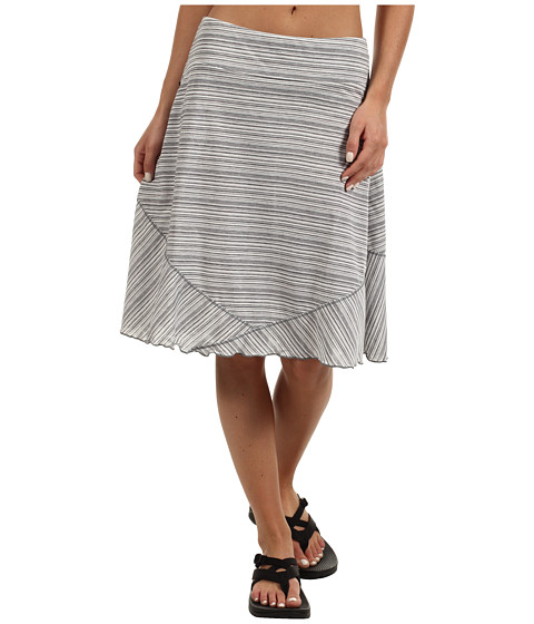 ExOfficio - Go-To Stripe Skirt (Black/White) Women's Skirt