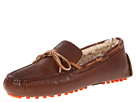 Cole Haan - Air Grant (Brown Grain/Shearling) - Cole Haan Shoes