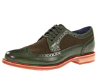 Cole Haan - Cooper Square Wingtip (Military/Military Wool) - Cole Haan Shoes