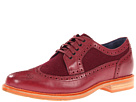 Cole Haan - Cooper Square Wingtip (Cordovan/Cordovan Wool) - Cole Haan Shoes