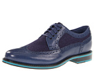 Cole Haan - Cooper Square Wingtip (Navy/Navy Wool) - Cole Haan Shoes