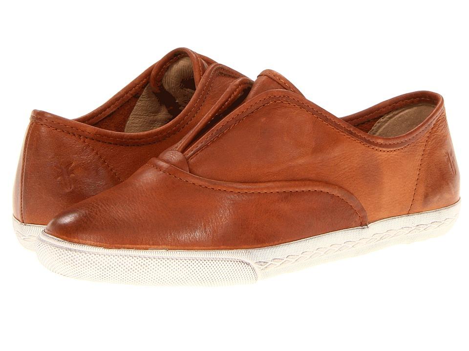 Frye - Mindy Slip On (Whiskey Soft Vintage Leather) Women's Slip on Shoes