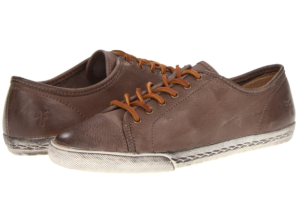 Frye - Mindy Low (Grey Soft Vintage Leather) Women's Lace up casual Shoes