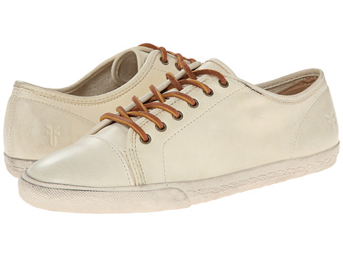 Frye - Mindy Low (Off White Soft Vintage Leather) Women