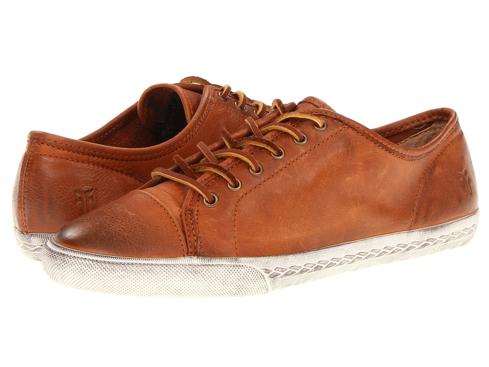 Frye - Mindy Low (Whiskey Soft Vintage Leather) Women's Lace up casual Shoes