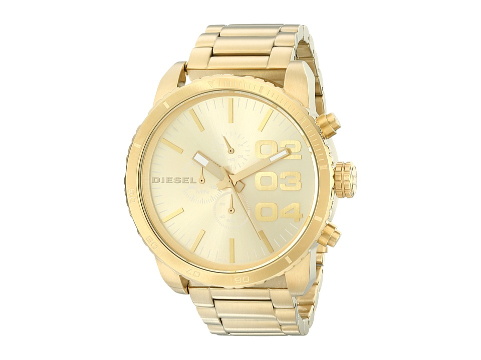 Diesel - Franchise DZ4268 (Gold) Chronograph Watches