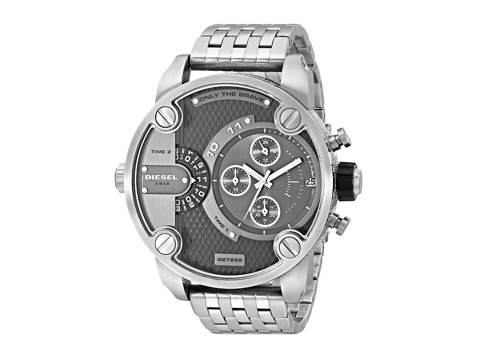 Diesel - Little Daddy DZ7259 (Silver) Analog Watches