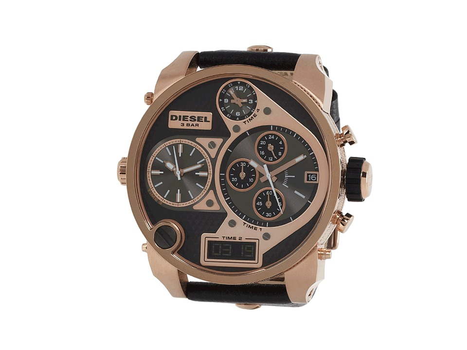 Diesel - DZ7261 (Rose Gold/Black) Watches