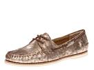 Frye - Quincy Boat Shoe (Bronze Metallic Leather) - Footwear