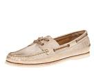 Frye - Quincy Boat Shoe (Gold Metallic Leather) - Footwear