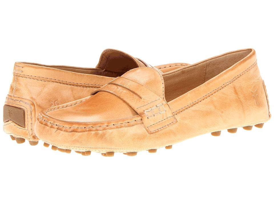 Frye - Rebecca Penny (Beige Soft Vintage Leather) Women