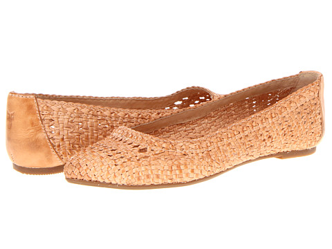 Frye - Regina Woven Ballet (Natural Veg Tan) Women's Flat Shoes