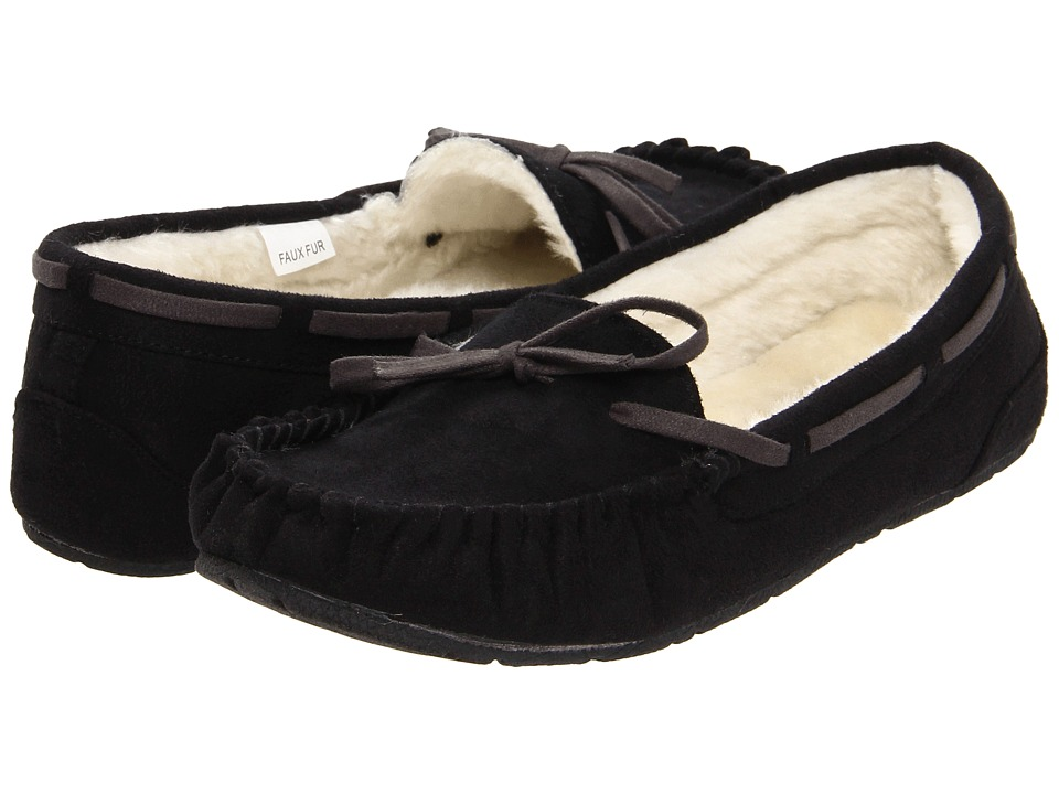 UNIONBAY Yum Moccasin (Black) Women