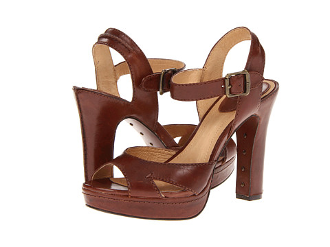 Frye - Samantha Seam (Redwood Smooth Full Grain) High Heels
