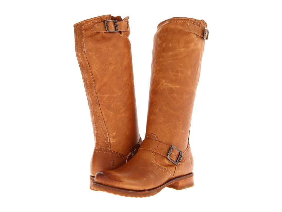 Frye - Veronica Slouch (Camel Soft Vintage Leather) Women's Pull-on Boots