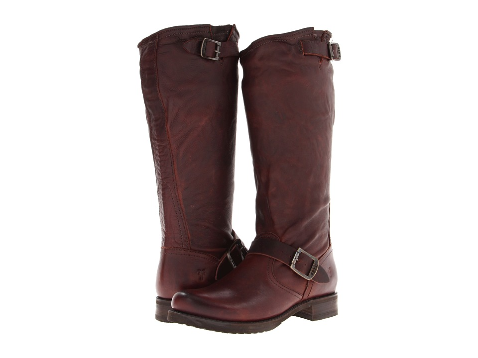 Frye - Veronica Slouch (Dark Brown Soft Vintage Leather) Women's Pull-on Boots