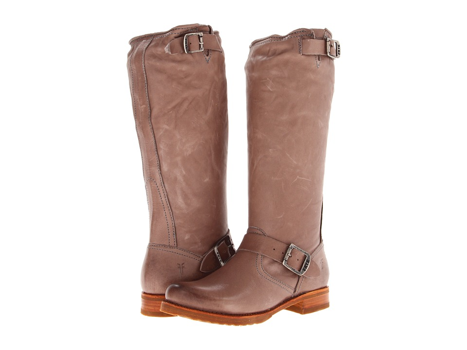 Frye - Veronica Slouch (Grey Soft Vintage Leather) Women's Pull-on Boots