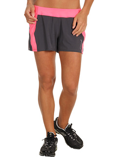 SALE! $17.99 - Save $22 on Brooks Glycerin 3.5 Short (Anthracite Brite Pink) Apparel - 55.03% OFF $40.00