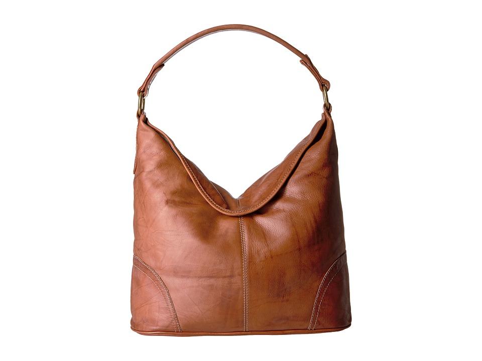 Frye - Campus Hobo (Saddle Dakota) Hobo Handbags