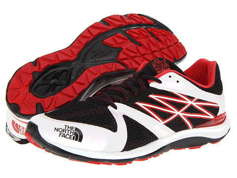 The North Face - Hyper-Track Guide (TNF White/TNF Red) Men's Running Shoes