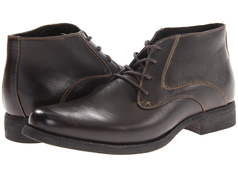 Steve Madden - M-Axle (Dark Brown) Men's Lace-up Boots