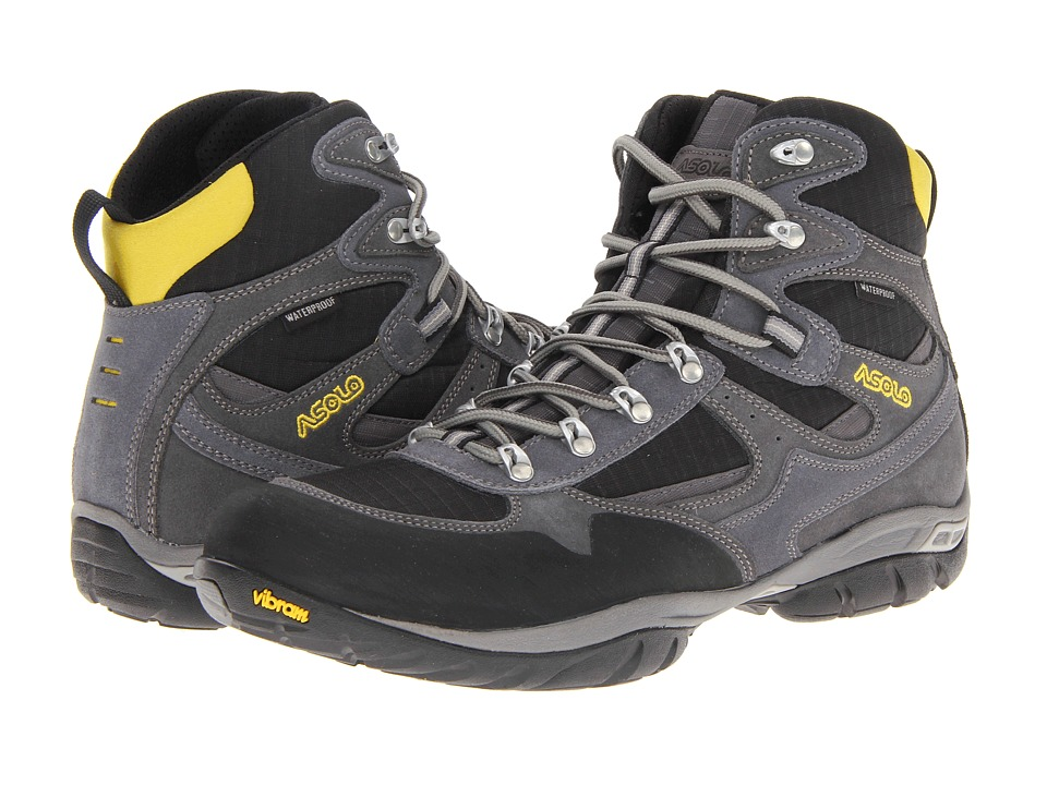 Asolo - Reston WP (Graphite/Black) Men's Hiking Boots