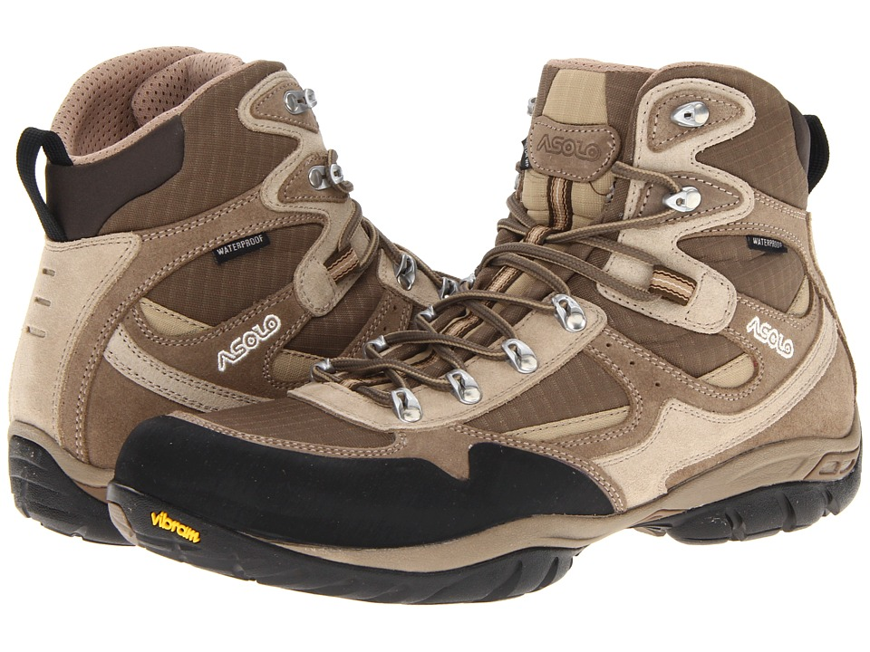 Asolo - Reston WP (Wool/Brown) Men's Hiking Boots