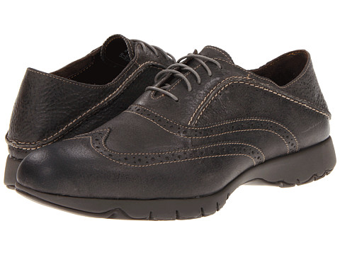 Hush Puppies - FIVE-Brogue (Charcoal Leather) Men