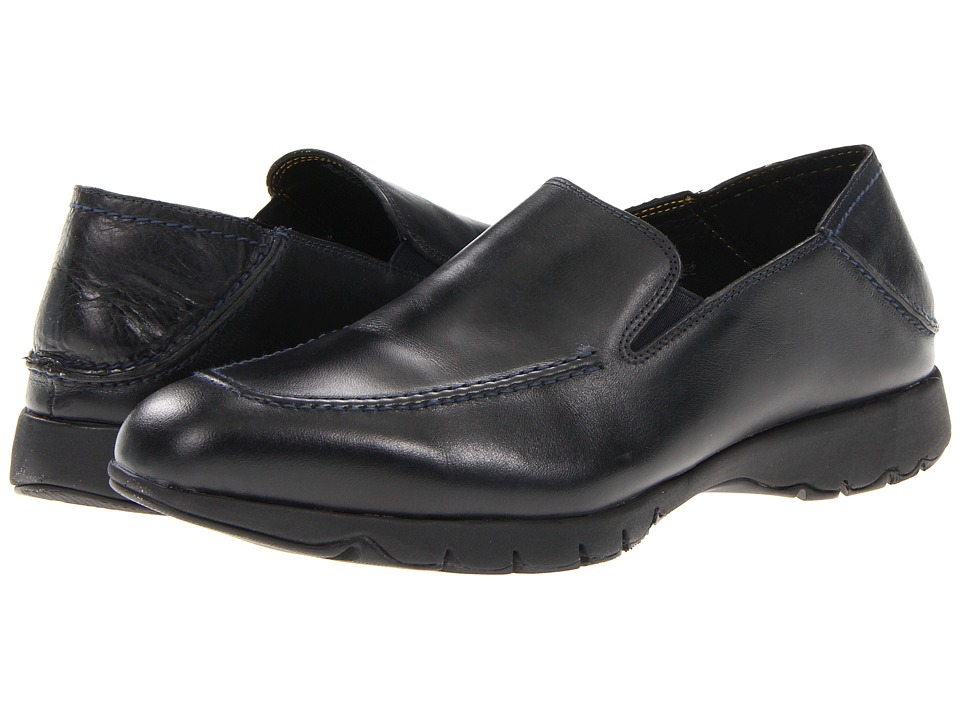 Hush Puppies - FIVE-Base (Black Leather) Men's Shoes
