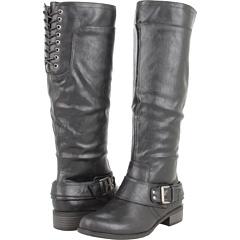 UNIONBAY Marley U Riding Boot (Black) Footwear