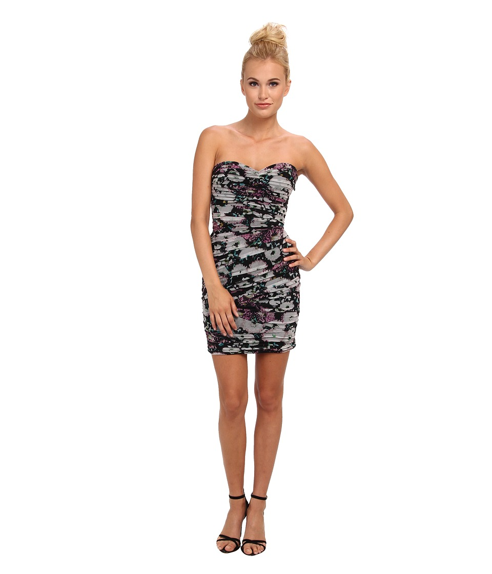 BCBGMAXAZRIA - Winnie Evening Dress (Lavender Mist Combo) Women