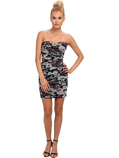 SALE! $147.99 - Save $190 on BCBGMAXAZRIA Winnie Evening Dress (Lavender Mist Combo) Apparel - 56.22% OFF $338.00