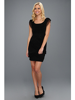 SALE! $156.99 - Save $191 on BCBGMAXAZRIA Briana Cocktail Dress (Black) Apparel - 54.89% OFF $348.00