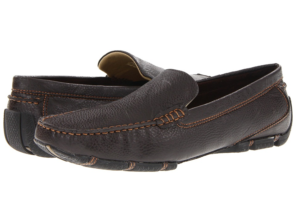 Antonio Zengara - Salvo (Brown) Men's Slip on Shoes