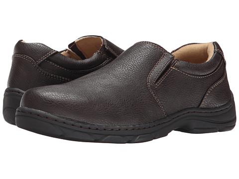 Antonio Zengara - Johnny (Brown) Men's Slip on Shoes