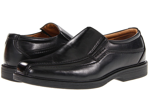 Antonio Zengara - Jamie (Black) Men's Slip on Shoes