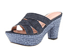 Stuart Weitzman - Sliderules (Navy Antique Denim)