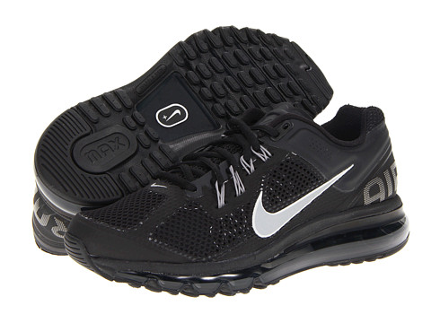 Nike Air Max + 2013 (Black Sport Grey/Reflective Silver) Women's Running Shoes