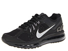 Nike - Air Max + 2013 (Black Sport Grey/Reflective Silver) - Footwear