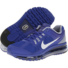 Nike Air Max + 2013 (Deep Royal Blue/Cool Grey/White/Reflective Silver) Women's Running Shoes