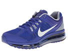 Nike - Air Max + 2013 (Deep Royal Blue/Cool Grey/White/Reflective Silver) - Footwear