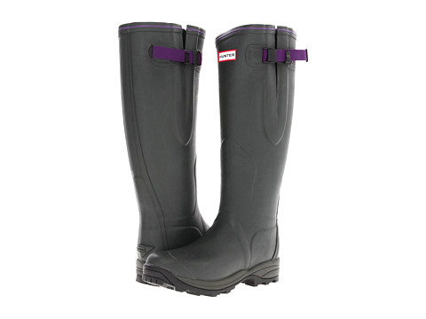 Hunter - Ladies Balmoral (Dark Olive) Women's Rain Boots