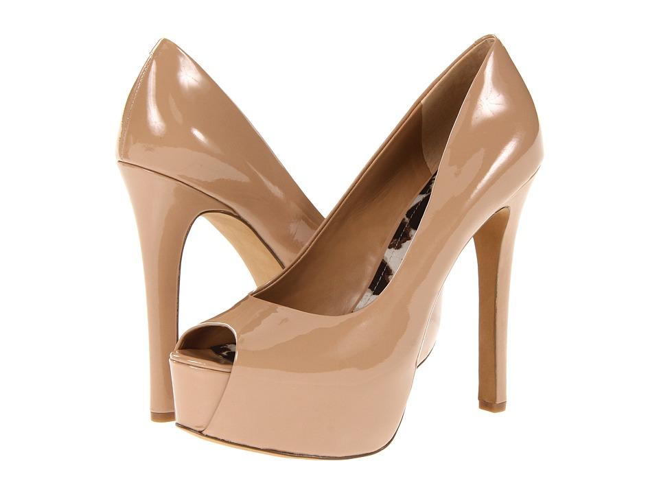 Jessica Simpson Carri (Nude Patent) High Heels