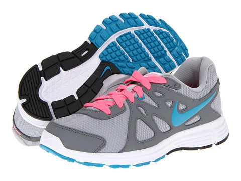 Nike - Revolution 2 (Wolf Grey/Cool Grey/Digital Pink/Neo Turquoise) Women