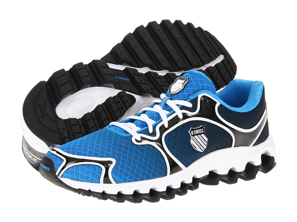 K-Swiss - Tubes 100 Dustem (Brilliant Blue/Black Fade) Men's Running Shoes