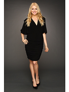 SALE! $41.99 - Save $126 on French Connection Jilly Drape Dress (Black) Apparel - 75.01% OFF $168.00