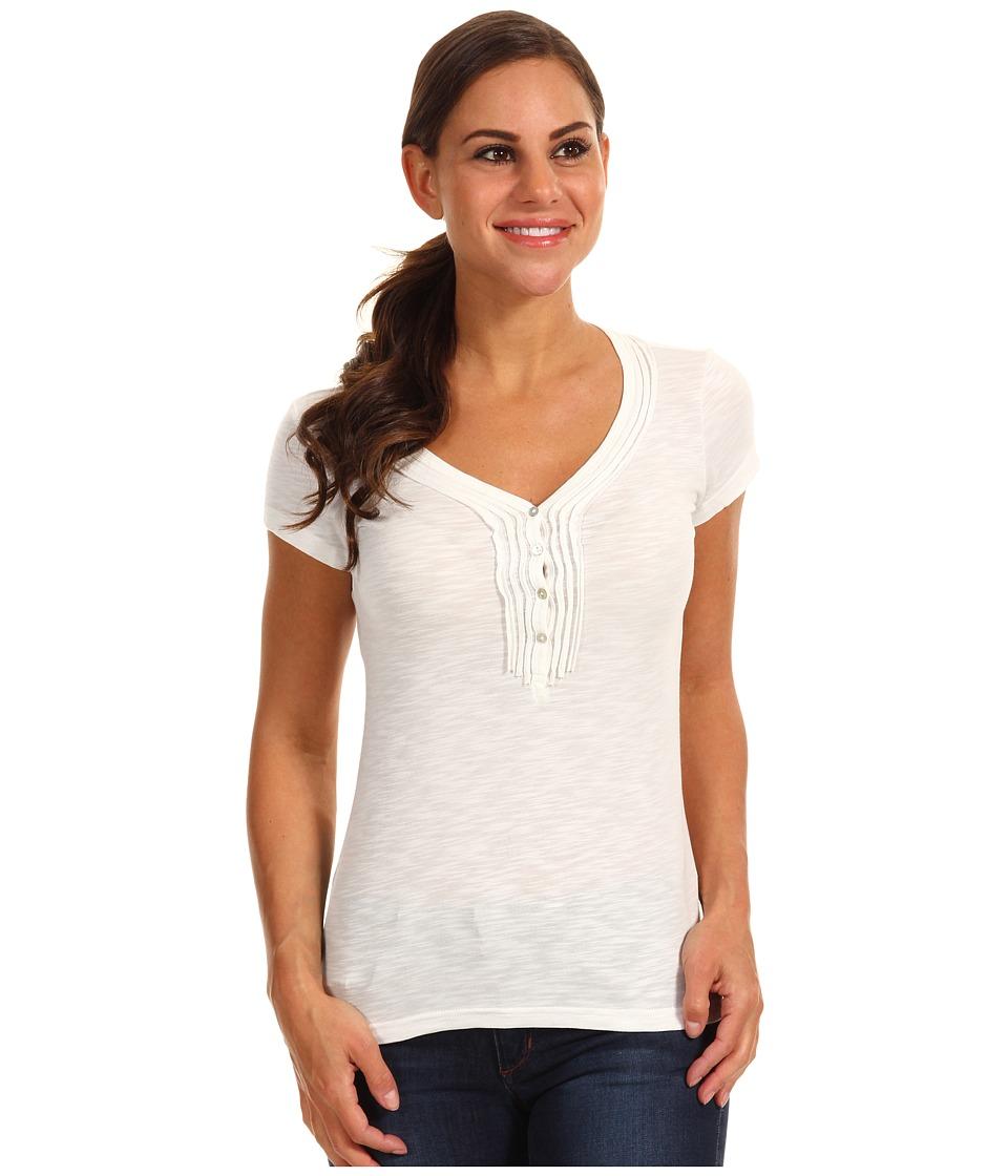 Kuhl - Vega Henley (White) Women's Short Sleeve Pullover