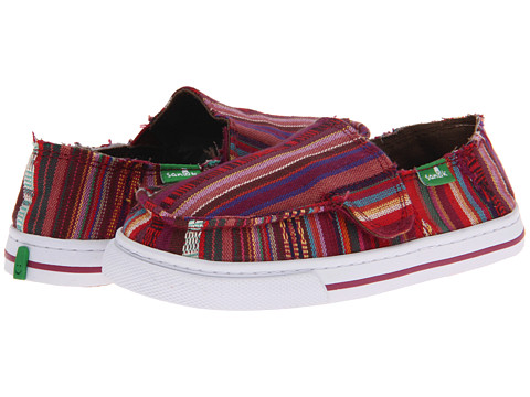 Sanuk Kids - Cabrio Poncho (Toddler/Little Kid) (Magenta) Girls Shoes