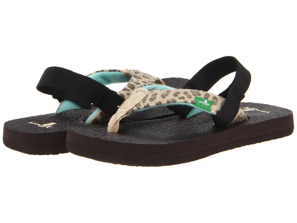 Sanuk Kids - Yoga Wildlife (Toddler/Little Kid) (Cheetah) Girls Shoes