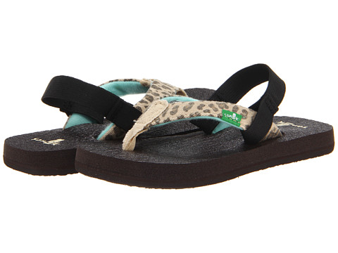 Sanuk Kids - Yoga Wildlife (Toddler/Little Kid) (Cheetah) Girls Shoes